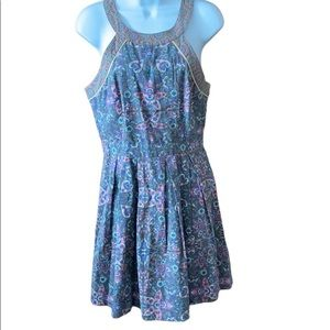 American Eagle Dress Paisley Floral Size 8